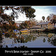 Perrys Boat Harbor 2006 Poster