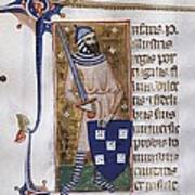 Peter I, Count Of Urgell 1187 - 1255 Poster