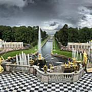 Peterhof Palace Poster