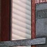 Petersen Paper Revolving Door. Poster