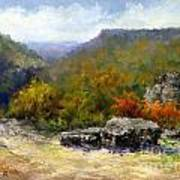 Petit Jean View From Mather Lodge Poster