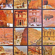 Petra Alive In Petra Jordan Poster