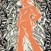 Petrograd Red Seventh November Revolutionary Poster Depicting A Russian Sailor Poster