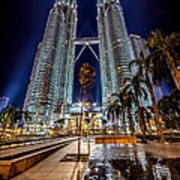 Petronas Twin Towers Poster