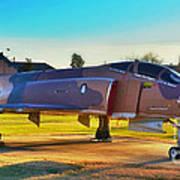Phantom 4 Jet Vietnam Era Poster
