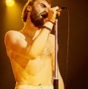 Phil Collins Of Genesis At Oakland Coliseum Poster