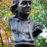 Philadelphia Benjamin Franklin Penny Bust Poster