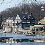 Philadelphia - Boat House Row Poster