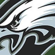 Philadelphia Eagles Football Poster