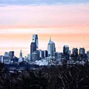 Philadelphia From Belmont Plateau Poster by Bill Cannon
