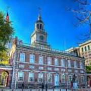 Philadelphia Independence Hall 9 Poster