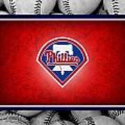 Philadelphia Philles Poster by Joe Hamilton