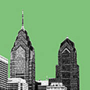 Philadelphia Skyline Liberty Place 2 - Apple Poster