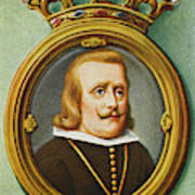 Philip Iv, King Of Spain Reigned Poster