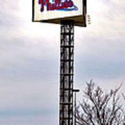 Phillies Stadium Sign Poster