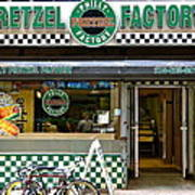 Philly Pretzel Factory Poster