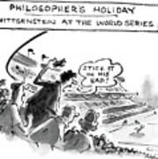 Philosopher's Holiday Wittgenstein At The World Poster