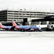 Phoenix Az Southwest Planes Poster