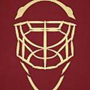 Phoenix Coyotes Goalie Mask Poster