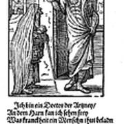 Physician, 1568 Poster