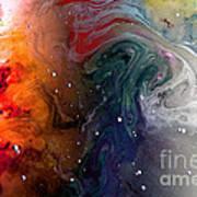 Pi Galaxy Poster by Petros Yiannakas