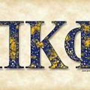 Pi Kappa Phi - Parchment Poster