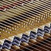 Piano Abstract 6582 Poster