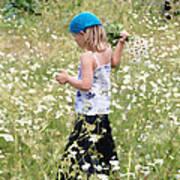 Picking Daisies Poster