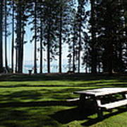 Picnic Place Poster