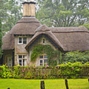 Picturesque Cottage Poster