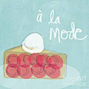 Pie A La Mode Poster by Linda Woods