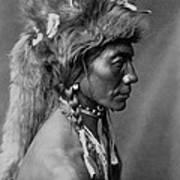 Piegan Indian Circa 1910 Poster