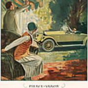 Pierce Arrow 1925 1920s Usa Cc Cars Poster