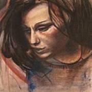 Pietro Annigoni-study Of Eva Poster by Svetlana Rudakovskaya