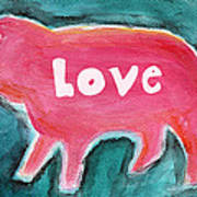 Pig Love Poster