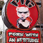Pig On Beale Poster