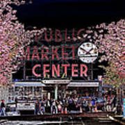 Pike Place Market IIi Poster