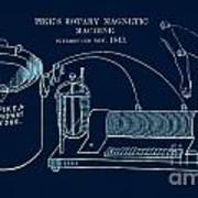 Pike's Rotary Magnetic Maching Poster