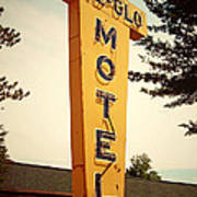 Pine Glo Motel Poster
