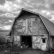 Pinedale Barn Poster