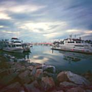 Pinhole Oceanside Harbor Poster