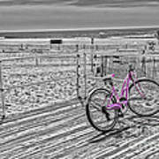 Pink Bicycle Poster