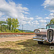 Pink Ford Edsel  Poster