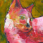 Pink Kitty Poster