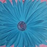 Pink N Blue Poster