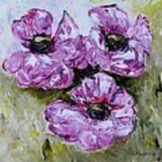 Pink Poppies Poster