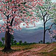 Pink Poui Poster