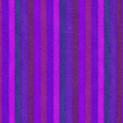 Pink Purple And Blue Striped Textile Background Poster