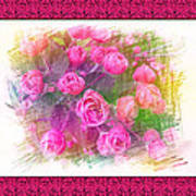 Pink Roses Poster