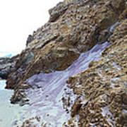 Pink Sand Of Pfeiffer Beach Poster by Viktor Savchenko